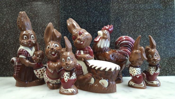 Schokolade zu Ostern